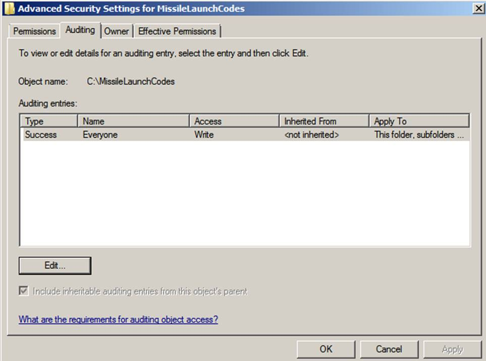 Chapter 2 Audit Policies and Event Viewer